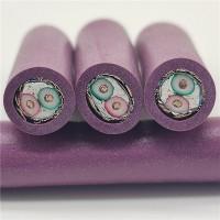 PLC紫色DP通信线  紫色通讯线