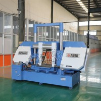 GB4260金属带锯床鲁班锯业生产厂家 人工辅助液压半自动