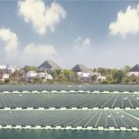 水上浮动式光伏电站系统,外贸推广
