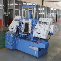 液压送料GB4235鲁班锯业双柱金属带锯床 切割强 质量强