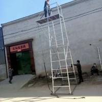 铝合金单边梯车 接触网检修梯车 铁路轨道梯车