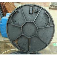 球墨铸铁井盖怎样安装