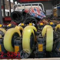 L35滚轮罐耳 罐笼组合钢罐道导向轮皮