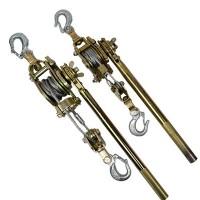 多功能紧线器2T手动牵引器 钢丝绳收线器 双钩棘轮式紧线器