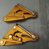 优质铝合金导线卡线器 绝缘导线卡线器 紧线器 铝镁合金夹头